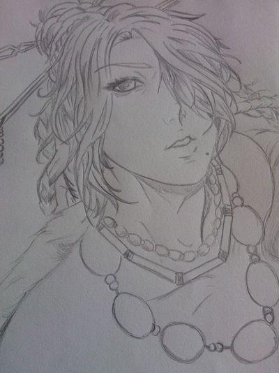 In Vendita Fan Art Manga~ Fan Art Finalfantasy Finalfantasy 10 Matite Matita LuLu