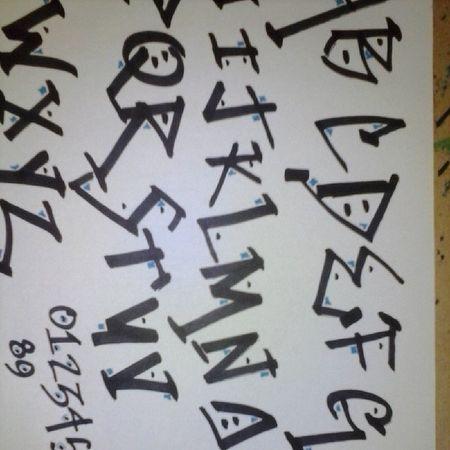 My alphabet design :)