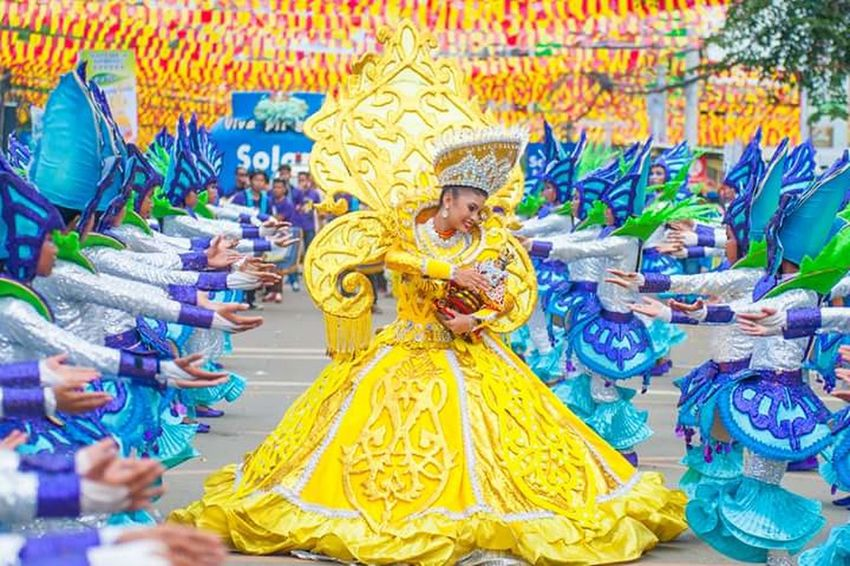 City Street Travel Destinations Multi Colored Tourism Tradition Full Length Celebration People Adult Adults Only Beauty In Nature Sinulogfestival2017