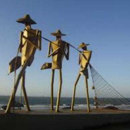 Os pescadores... LagoaDaJansen S ãoLuísMA 401anos VivaSLZ