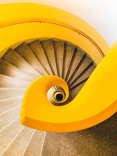 🌀🇸🇪 EyeEm Best Edits Architectural Design The Week on EyeEm Architecturelovers Stairs_collection Yellow Color Architecturephotography Architectureporn EyeEmBestPics Architectural Detail Arch IPhoneography EyeEm Best Shots Architecture WeekOnEyeEm Architecture_collection The Week on EyeEm Editor's Picks Yellow Spiral Indoors  Spiral Staircase Steps And Staircases Staircase Design Pattern Circle Architecture Railing Ceiling Geometric Shape