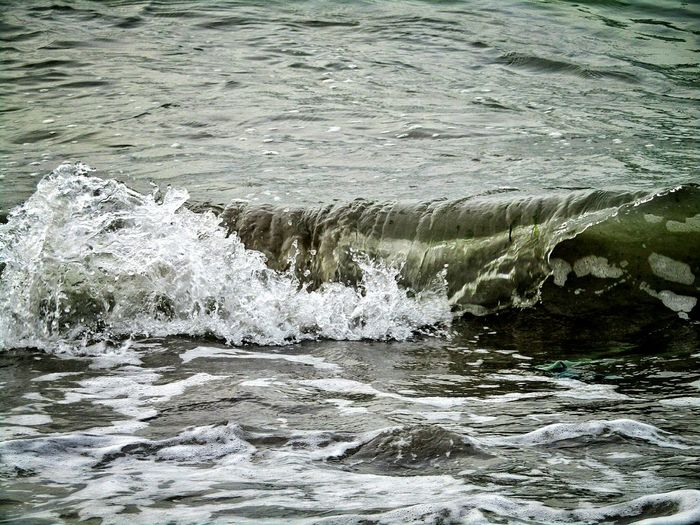 wave me Water Nature Waterfront No People Beauty In Nature Day Outdoors Wave Sea EyeEm Ready   AI Now