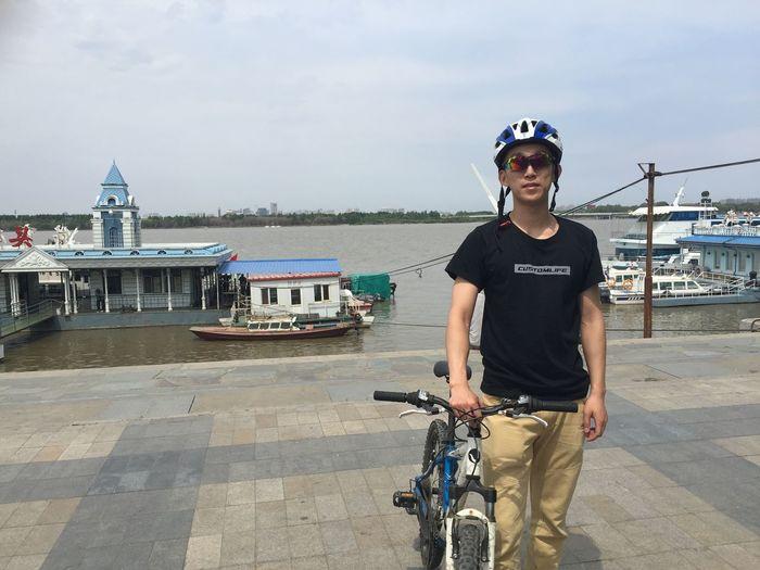 Beautiful Day Coustomlife Enjoying Life Relaxing Biking