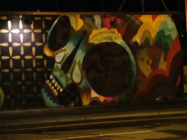 Street Art/graf Cities At Night City Denver Colorado  q