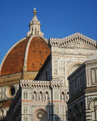 Duomo santa maria del fiore against clear sky