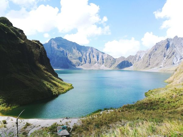 Tourist Attraction  Province Of Philippines Mt Pinatubo Crater Lake Beauty In Nature Worththetrek Worththehike The Great Outdoors - 2017 EyeEm Awards The Week On EyeEm Connected By Travel Perspectives On Nature Go Higher