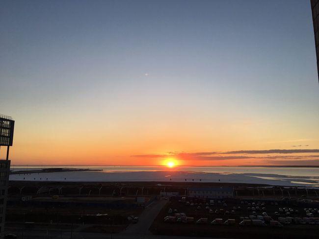 St. Petersburg - Nofilter Sunset Sunset Sky Outdoors No People Nofilter Noedit Sun Gulfoffinland