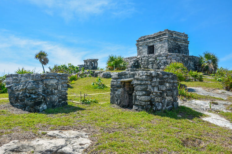 Abandoned Ancient Ancient Civilization Archaeology Architecture Bad Condition Building Exterior Built Structure Damaged Day Grass History Nature No People Old Ruin Outdoors Sky Stone Material Travel Destinations Tree Tulum Ruins Neighborhood Map The Architect - 2017 EyeEm Awards The Great Outdoors - 2017 EyeEm Awards The Portraitist - 2017 EyeEm Awards