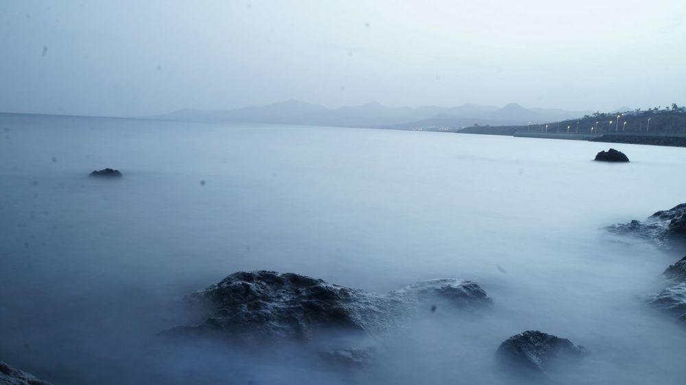Relaxing Sonyalpha Textures And Surfaces Paisajes Fotografianoturna Largaexposicion Lanzarote Island Sin Filtros