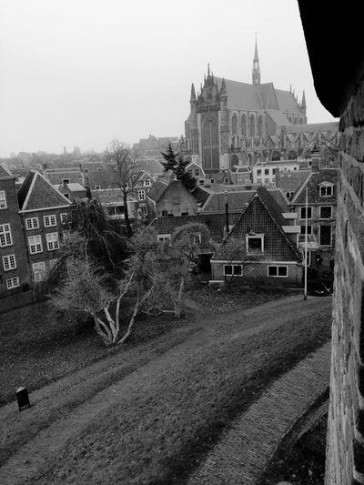Church Leiden No People Sky Day