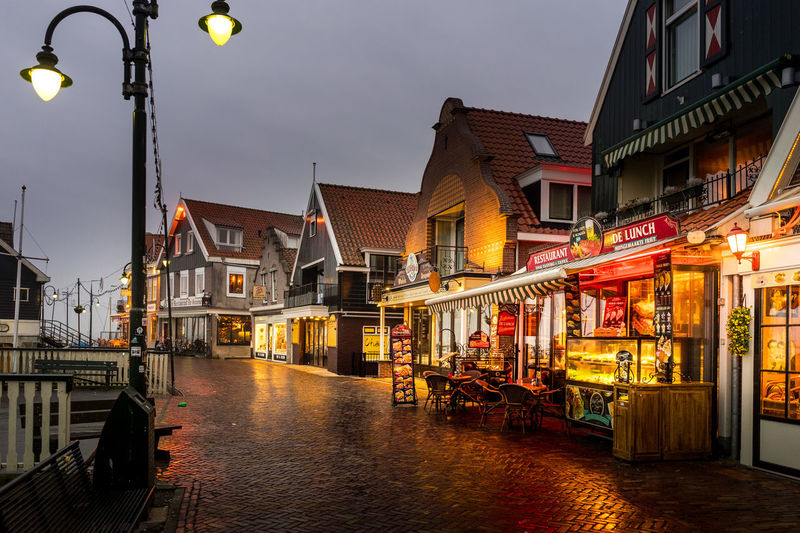 Architecture Building Building Exterior Built Structure Canal City Dusk Illuminated Incidental People Lighting Equipment Nature Nautical Vessel Outdoors Sky Street Street Light Transportation Water Waterfront