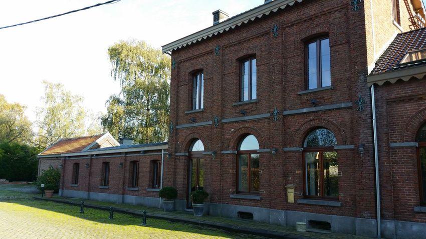 Escaping Aventure Time Hello World Happy :) Ancienne gare de Thorembais & Grand-Leez. Namur. Belgium :)