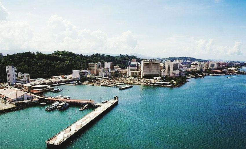 My Home City Town Kota Kinabalu, Sabah, Malaysia