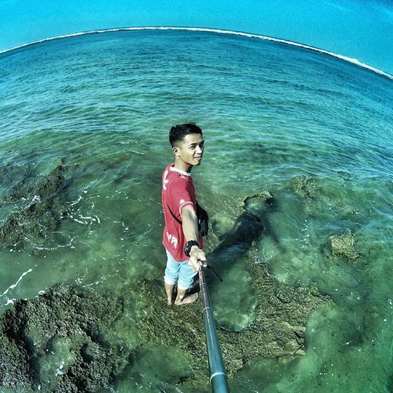 Hallo 😉 . . Garut Beach Sayangheulang Gopro vscocam fun ALM