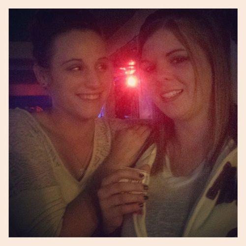 Sarah & Crystal Corral Bar Girlsnite Holbrook arizona azgirl az crystal sarah dancefloor gfs dancing lights weekendawayfromshit