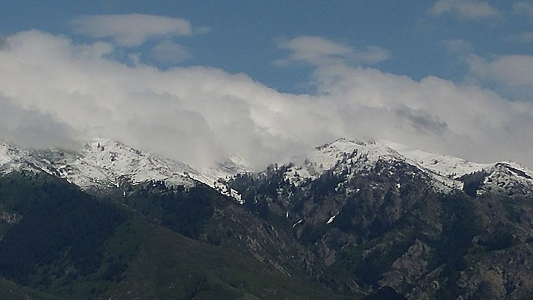June snowfall Wasatch Front Mountain Snow Mountain Range Snowcapped Mountain No People Unedited The Purist