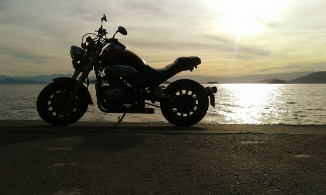 Motorcycles Travel Beach Sunset Hapiness Adventure Sunsets Sunset Silhouettes