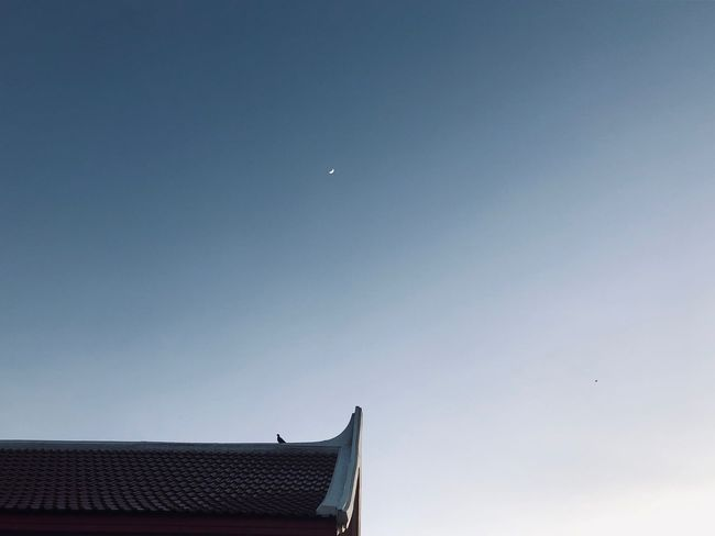 Minimoon Sky Architecture Built Structure Building Exterior Low Angle View Nature Moon