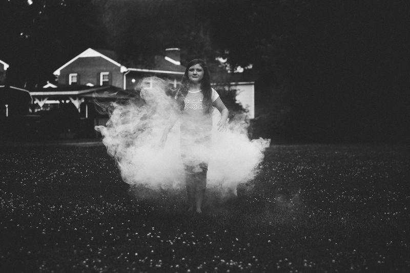 darkness and light Beauty Girl Creativity Smoke Motion Architecture Transportation City Incidental People Smoke - Physical Structure Outdoors People Building Exterior Nature