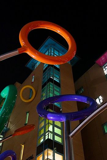 Bristol Royal children's Hospital Lollipop Bubble Texture Textures and Surfaces Buildings Architecture Streetphotography Art is Everywhere Eyeemarchitecture EyeEmBestPics City Art Design Colors Architecture_collection Ladyphotographerofthemonth Shootermag Andrew Smith Hospital Bristol Royal Children's Hospital England Bristol Low Angle View Night Architecture Illuminated Built Structure Communication Building Exterior Arts Culture And Entertainment Neon The Graphic City Stories From The City Visual Creativity The Architect - 2018 EyeEm Awards The Street Photographer - 2018 EyeEm Awards Creative Space 10 #urbanana: The Urban Playground My Best Photo
