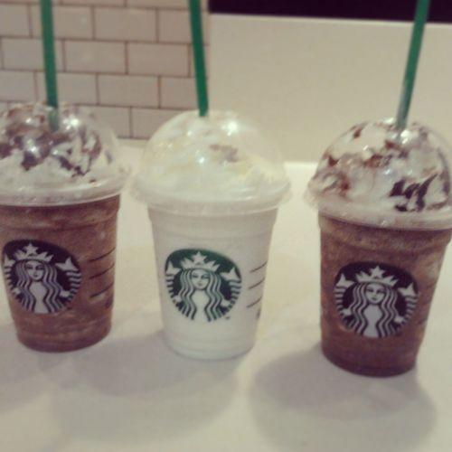 Starbucks with the besties Starbucks Friends Chocochip Vanilla