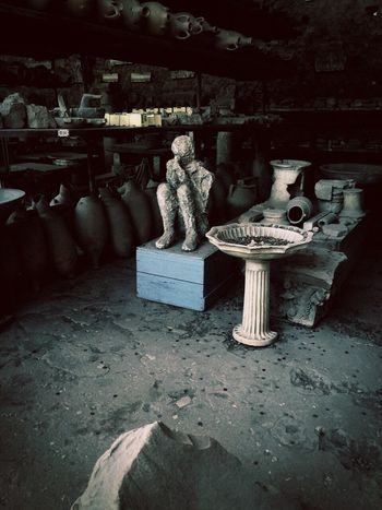 When in Rome...take pics Antique Sculptures