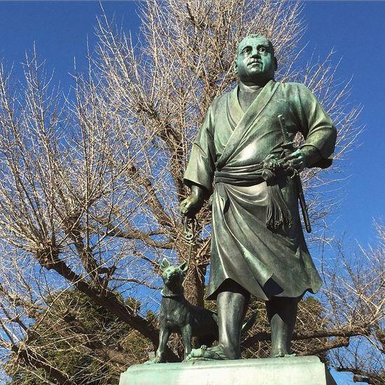 上野公園 上野 西郷さん とりあえずわかりやすく西郷どんな…??