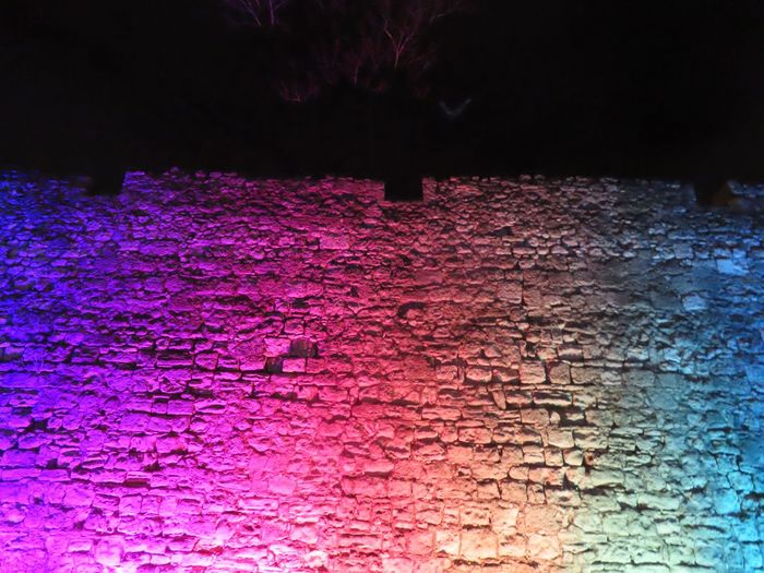 Blind Photographer Rainbow Colors No People Night Illuminated Multi Colored Nature Pattern Outdoors The Minimalist - 2019 EyeEm Awards The Street Photographer - 2019 EyeEm Awards