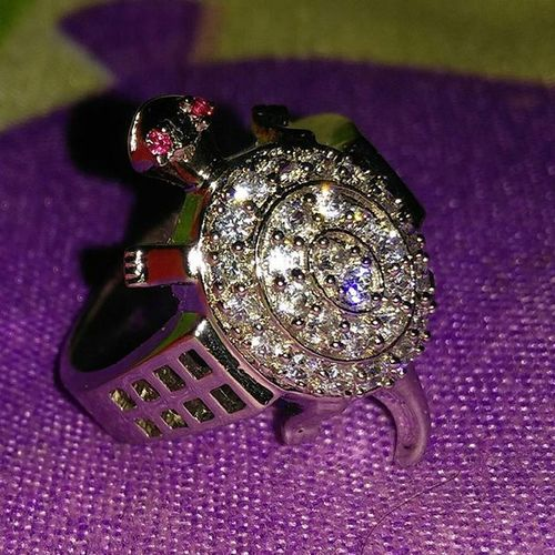 Yoooo got a New year gift...😉😉😎 Ring Silver  Silverrings Turtlering Newyeargift Gifts Happy Like4like Mumbaibizarre Thephotosociety Wethepeople