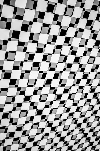 Abstract Photography Black & White Pattern Pieces Square Backgrounds Black And White Checked Pattern Chequered Close-up Design Full Frame Indoors  No People Pattern Shape Square Shape Squares Squares And Lines White Color