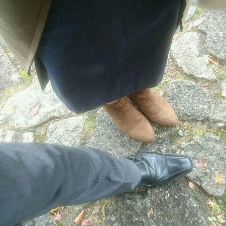 割り込みしたがる人💓 Low Section Shoe Human Leg One Person Human Body Part High Angle View Day