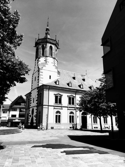 Architecture Building Exterior Built Structure Bühler Rathaus City Day No People Outdoors Sky