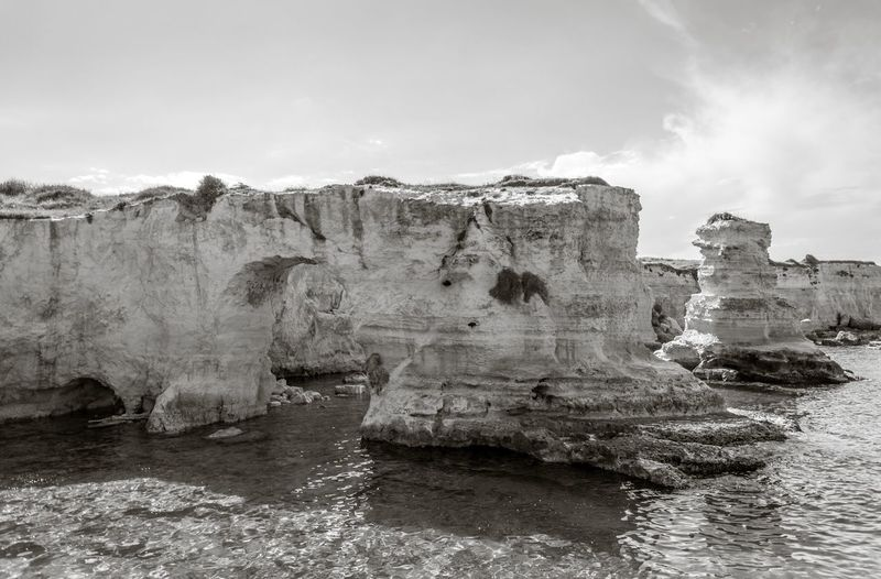 Rock Formations In Sea