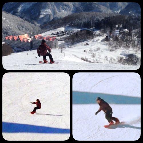 Snowboarding Hakuba Snowboard スノボ