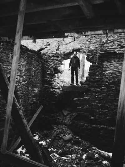 Portrait Of A Friend Photography Abandoned Abandoned Buildings Black And White Photography Blackandwhite Portrait Ambiance