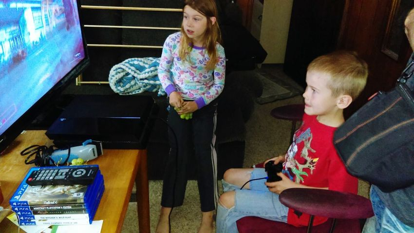 Thats My Younest Son Michigan Gaming Saturday Wet Out Side Check This Out Cheese Playing Doom