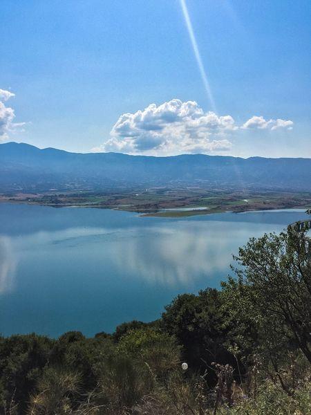 Greece View Blue Blue Sky @photohackday @eyeem Sky_collection @eye4photograpy Summer Lake Lake View Sun