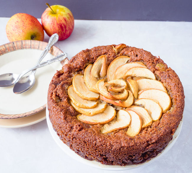 Apple Apple Cake Bright Food Styling Natural Light Autumn Food Fall Foods Food Food And Drink Food Photography Freshness Healthy Healthy Eating Healthy Food No People Plate Ready-to-eat Sweet Food Warmth