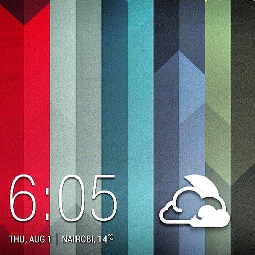 Time Weather Nairobi August itwastwelvedegreesbeforethis HTCOne wallpaper webstagram statigram clouds @htc
