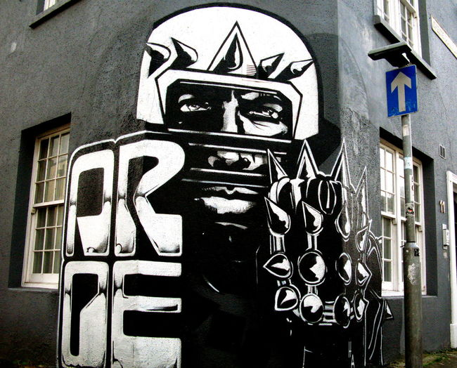 Aroe Art Art And Craft Brighton Communication Creativity Graffiti Graffiti Guidance Human Representation Information No People Number Pattern Sign Sussex Symbol Uk Wall Wall - Building Feature