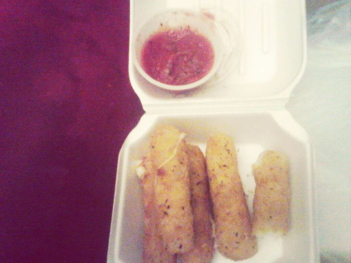 Eating Cheessticks :)