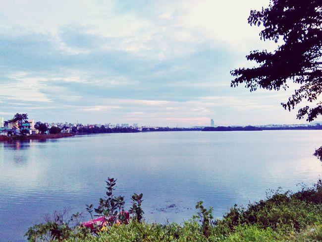 Pleasent evening at Madivala Lake Madivalalake Lake View Hanging Out EyeEm Nature Lover Bangalore