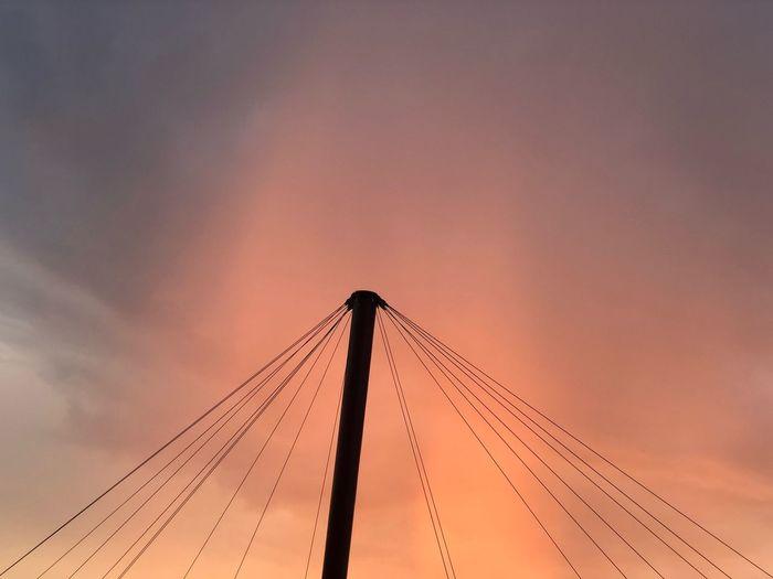 Sunset Rain Sunset Sky And Clouds Sky