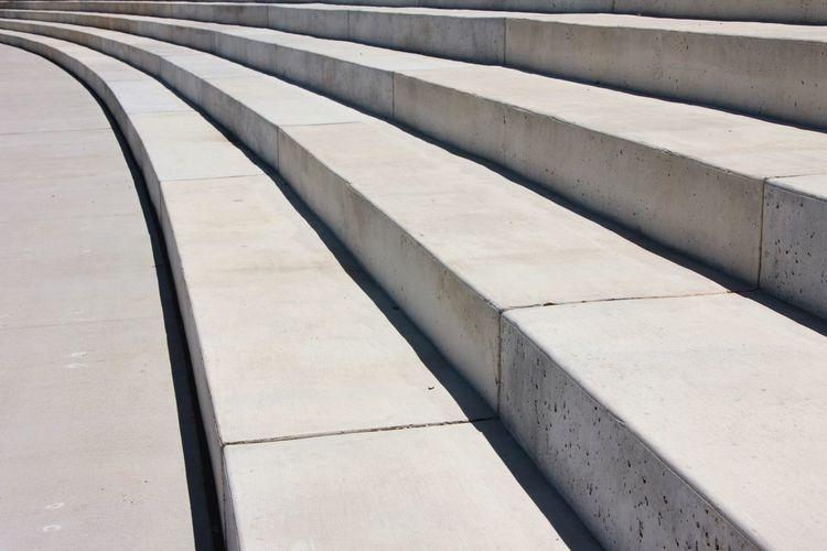 Architecture Built Structure Close-up Stairs Steps Concrete Endless Infinité Climb Wind Continuous Wrap Persoective Pattern Infinité