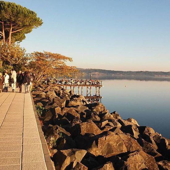 8 novembre 2015 Trevignano Romano Trevignanoromano Lagodibracciano Lake Lago Noeffect Nofilter Italia