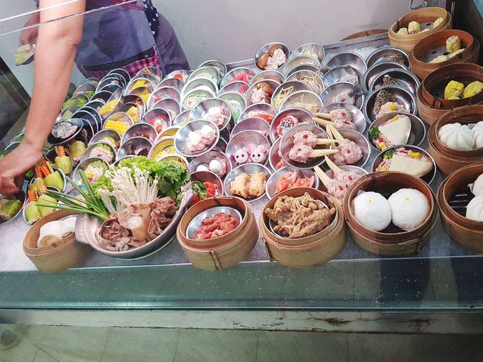 KAICIN Dim sum Steambuns Dim Sum Restaurant Buk Kut Teh Buk Khut Tae Dimsum Variation Close-up Food And Drink
