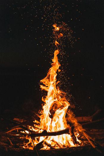 Bonfire Burning