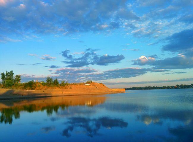 "Perm territory coast river ""Kama"""