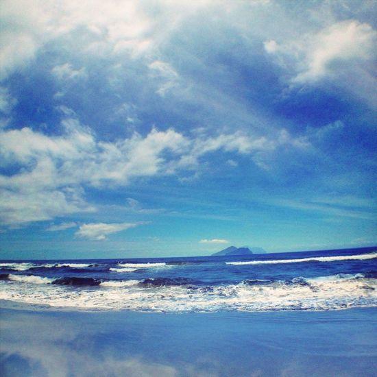 See the Sea. Taiwan Yilan Sea Sea And Sky