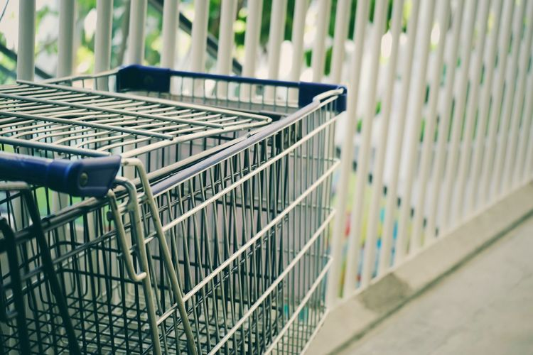 Shopping cart at supermarket Earning Cart Income Commercial Investment Purchase Rich Growth Payment Shop Store Credit Economy Economic Marketing Customer  Buy Sell Sale Basket Trolley Shopping Shopping Cart Business